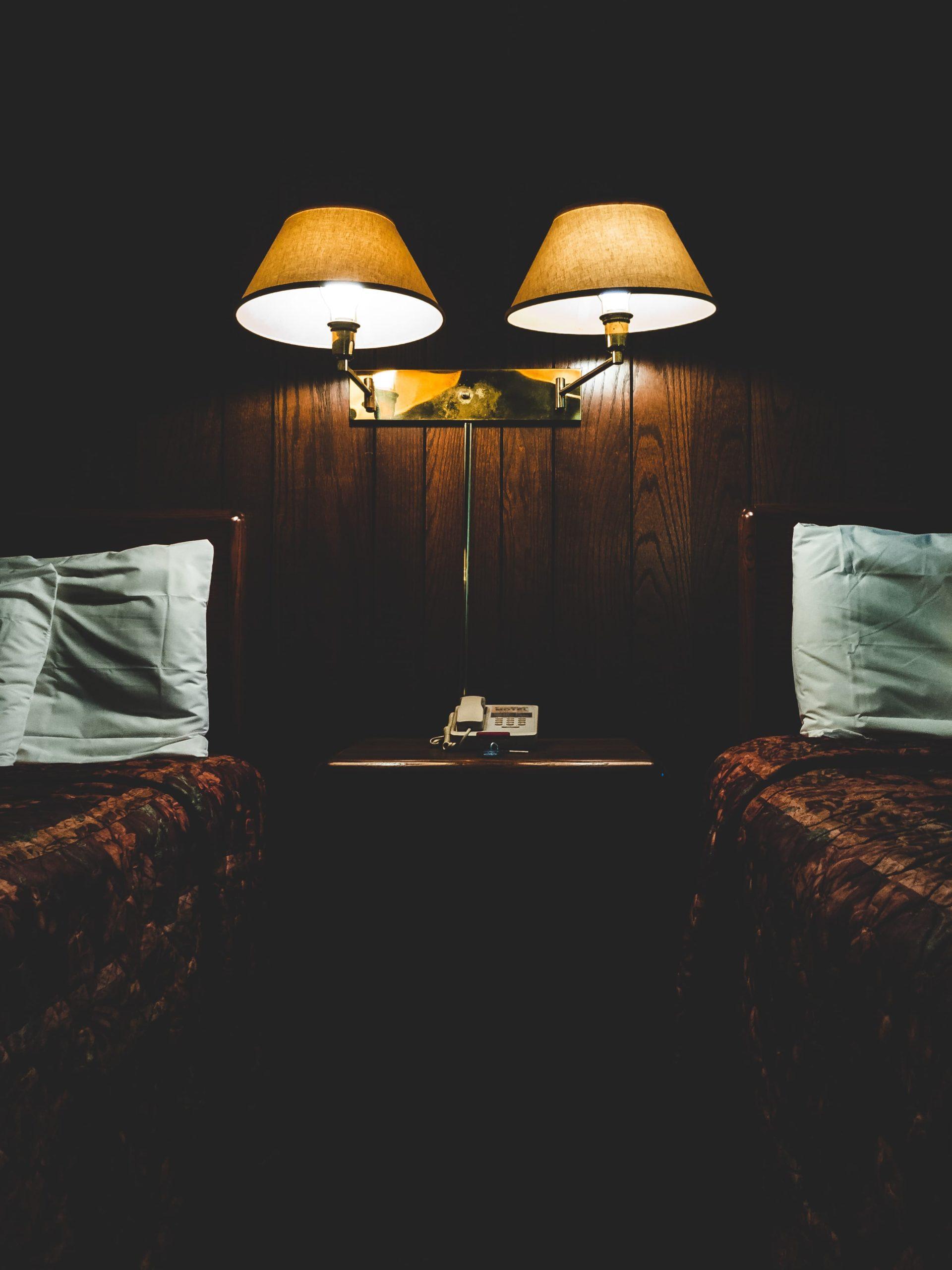 bo på hotell